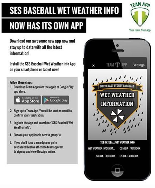 It's raining, what do I do? | Comets Baseball Club Inc